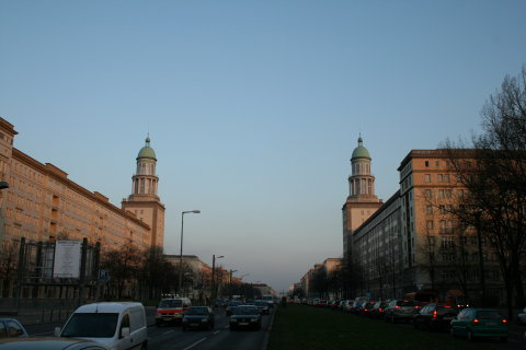 Karl-Marx-Allee towers