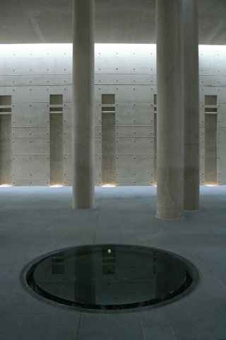 Treptow crematorium, central pool